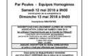 Championnat Hérault Doublette Mixte 2018